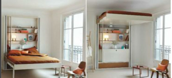 Mobile beds as a space saving cooler solution sleepwell magazine - Small space sleeping solutions pict ...