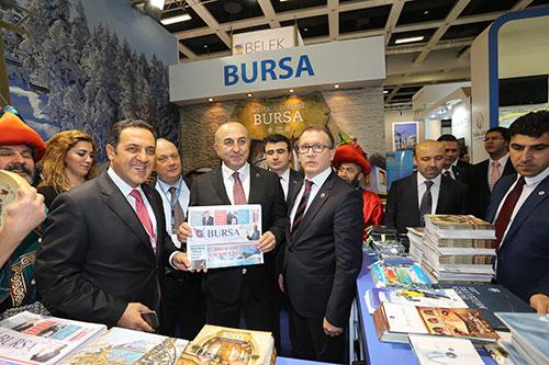 """Ulu Sehir Bursa"" was a major topic in ITB, International Tourism Fair Berlin"